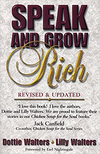 Speak And Grow Rich Revised And Updated Dottie Walters Lillet