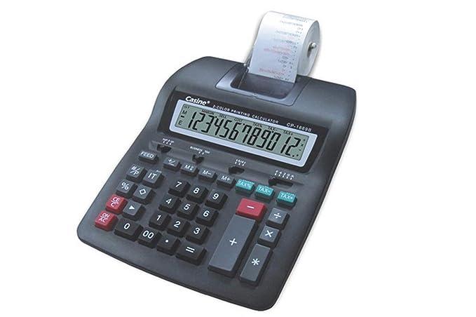 calculadora impresión Ticket calculadora impresora LCD 12 ...