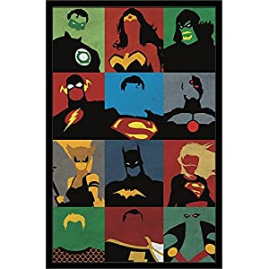 Trends International Justice League Minimalist Wall Poster