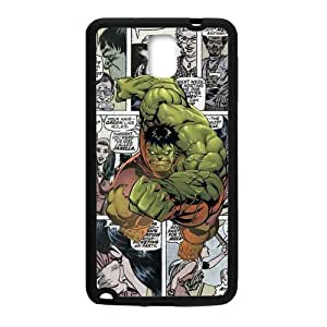 Zyhome Galaxy Note 3 Cartoon Marvel Comics Hulk Design Case Cover for Samsung Galaxy Note 3 (Laser Technology)