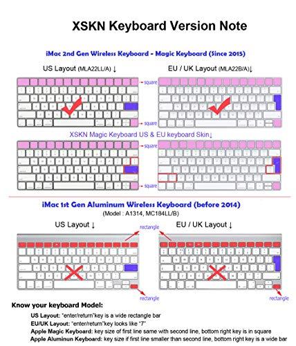 XSKN Magic Keyboard Avid Pro Tools Shortcut Keyboard Cover, Durable Avid Hotkeys Silicone Keyboard Skin for Apple Magic Keyboard MLA22LL/A by XSKN (Image #6)