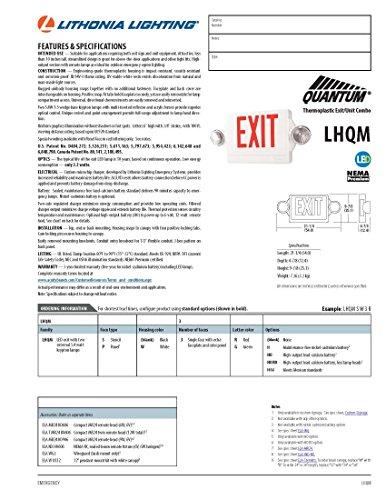 lithonia lighting lhqm s w 3 r m4 quantum 2 light led polycarbonate