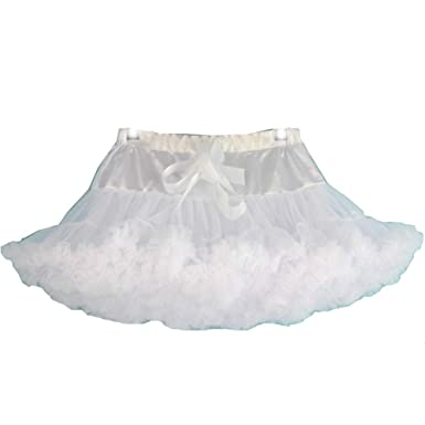 9bbc0ae6ef kakafashion Girls' Layered Ruffle Tulle Ballet Tutu Skirt 3-10T (S, ...