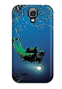 Galaxy Tpu Case Skin Protector For Galaxy S4 Fish With Nice Appearance
