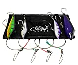 Awesome Wahoo Lure Set - 4pk- Tuna Dorado Replaces Braid Marauder - Yo-Zuri