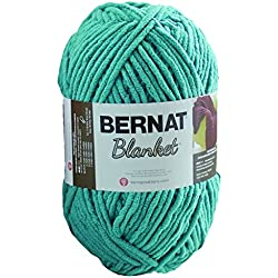 Bernat Blanket Yarn, 10.5 Ounce, Light Teal, Single Ball