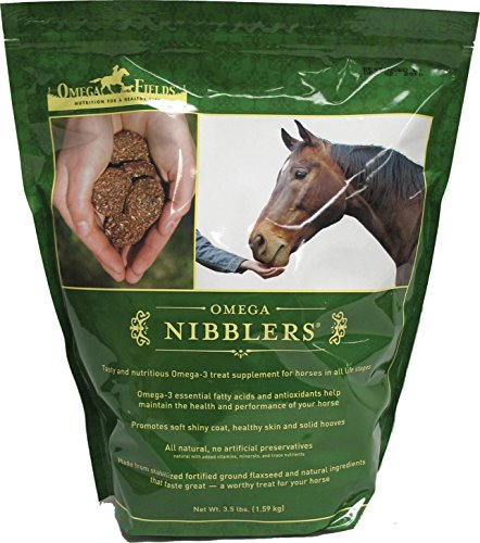 OMEGA FIELDS D Omega Nibblers Horse Supplement 3.5 POUND