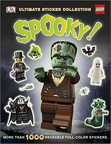 Ultimate Sticker Collection: LEGO Spooky!: More Than 1,000 ...