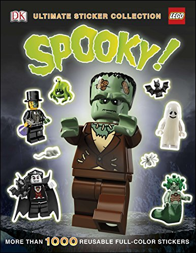 Ultimate Sticker Collection: LEGO Spooky!: More Than 1,000 Reusable Full-Color -