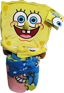 Spongebob Squarepants Throw And Pillow Set : Amazon.com: Spongebob Squarepants 40