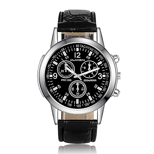 Classic Automatic Black Leather - 3