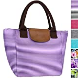 OPUX Insulated Lunch Bag for Women | Lunch Tote for Ladies, Girls, Female | Large Reusable Soft Lunch Box Purse Cooler...