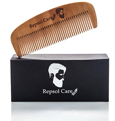 beard brush and beard comb kit for men handmade wooden comb and natural boar bristle beard. Black Bedroom Furniture Sets. Home Design Ideas