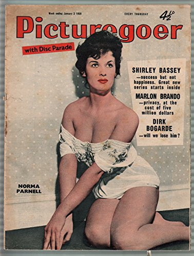 Norma Mag - Picturegoer 1/03/1959-Norma Parnell-Shirley Bassey-British fan mag-FR
