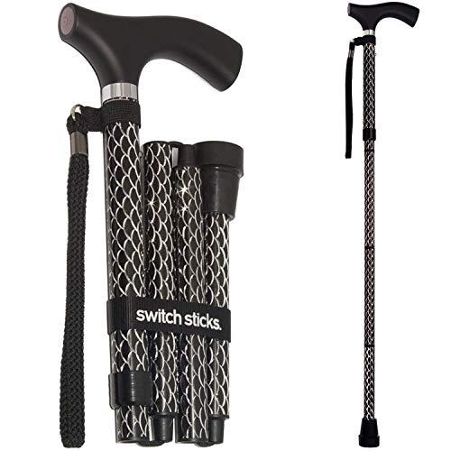 Folding Adjustable Walking Sticks - 5