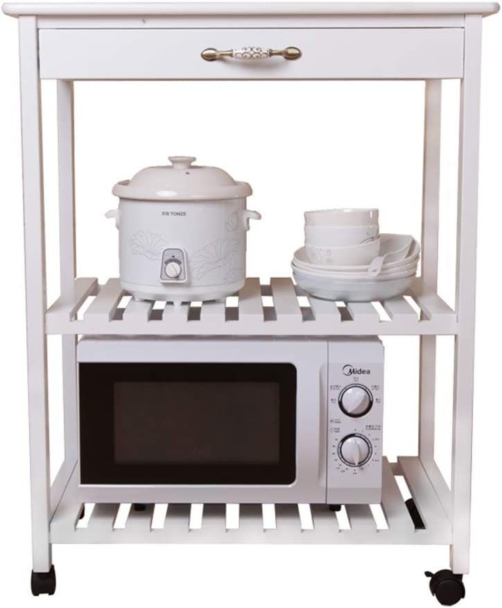 ZKZB Design Pratico Scaffale portaoggetti da Cucina Telescopico per Uso Domestico Forno a microonde Rack in Acciaio Inossidabile