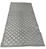 Acoustic Blanket - 4'-6'' X 8' Single Faced Fiberglass Wall Blanket w/ Grommets