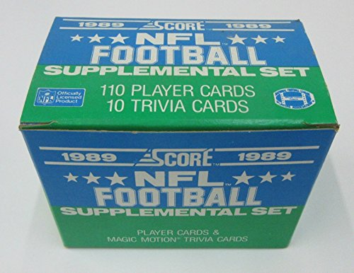 1989 Score Football Supplemental Factory Set (Football Score 1989)