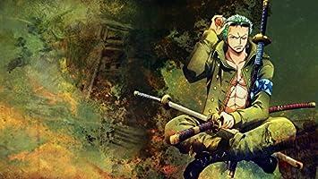 Amazon Com Xxw Artwork One Piece Roronoa Zoro Poster