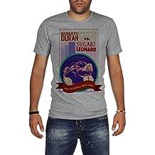Palalula Men's Boxing Fight Roberto Duran vs Sugar Ray Leonard T-Shirt