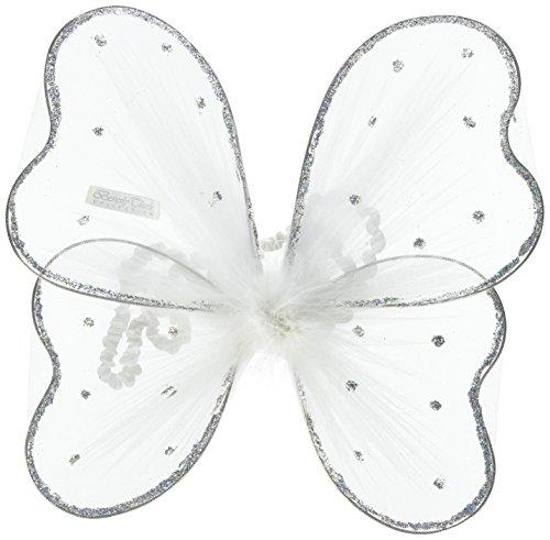 Ivy Lane Design Dog Wings Ring Holder, White ()