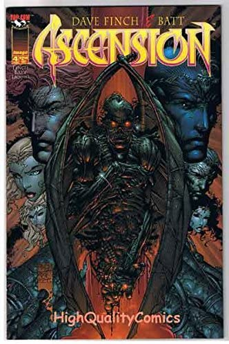 Ascension 1997 series # 4 near mint comic book