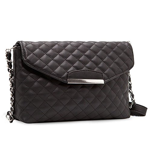 Quilted Envelope Clutch - 4