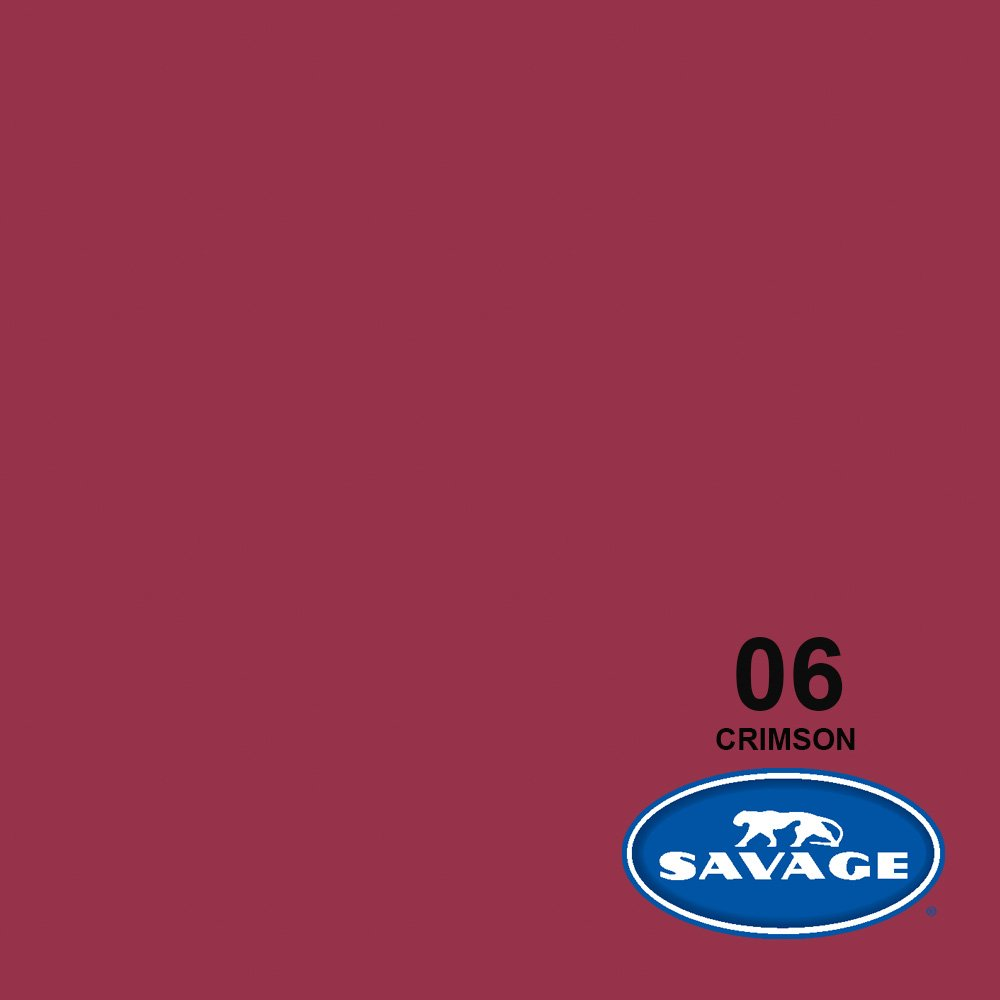 Savage Seamless Background Paper - #6 Crimson (107 in x 36 ft) by Savage (Image #2)