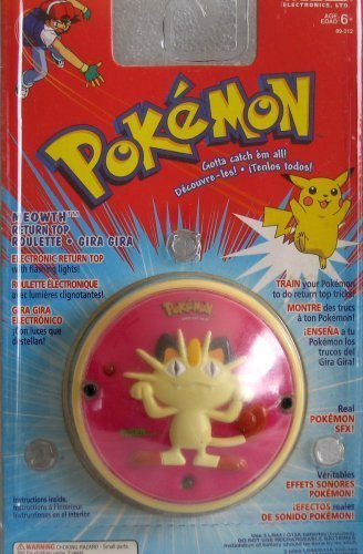 Amazon.com: Pokemon Meowth Yo-yo Electronic Lights: Toys & Games
