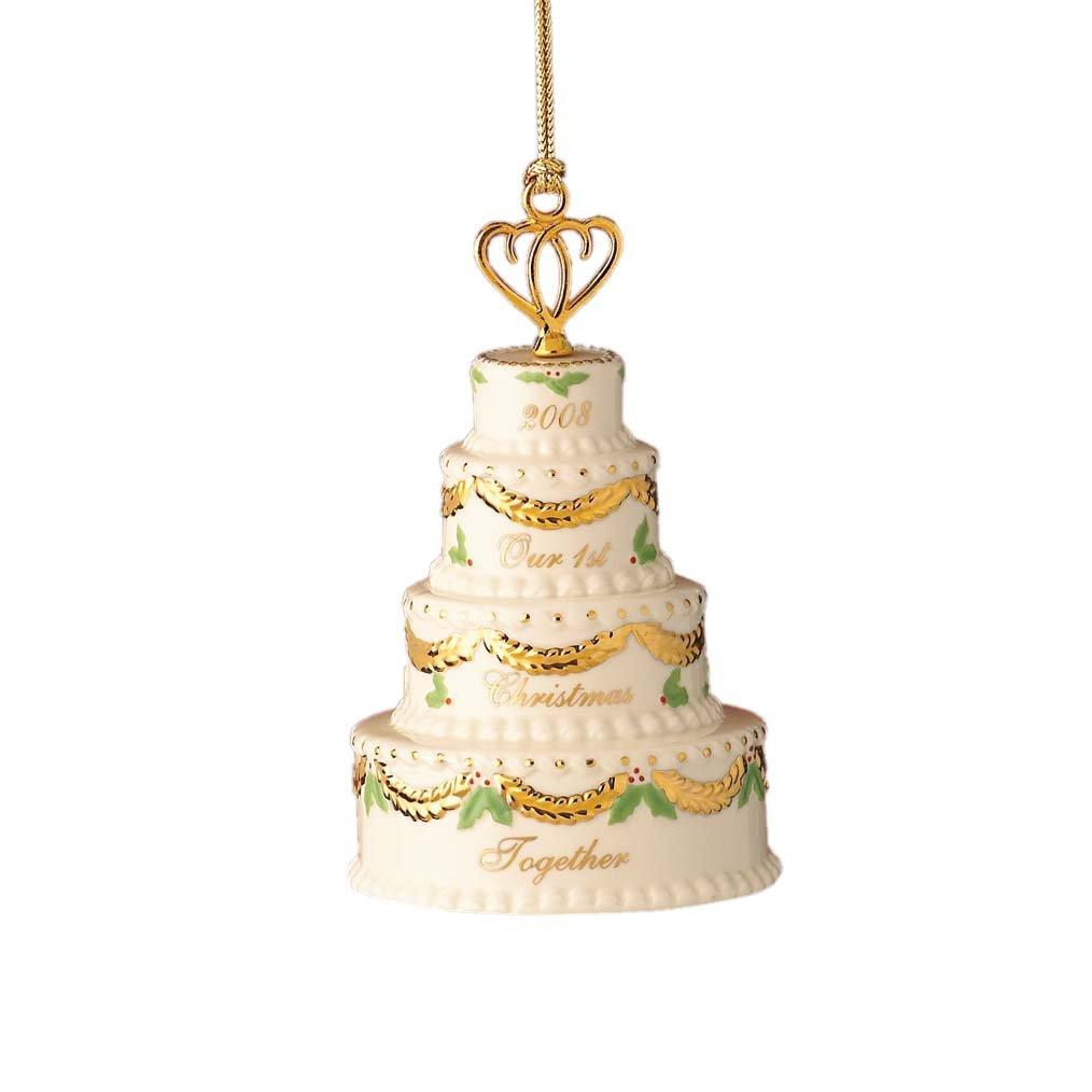 Amazon.com: Lenox 2008 Cake Ornament, \