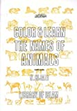 Color and Learn the Names of Animals