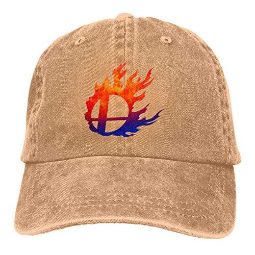Super Smash Bros Vintage Cotton Adjustable Hat