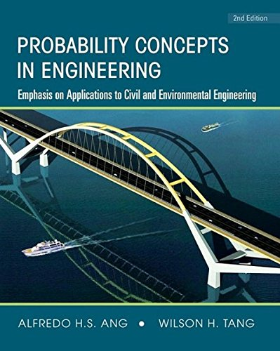 047172064X - Probability Concepts in Engineering: Emphasis on Applications to Civil and Environmental Engineering (v. 1)