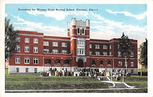 Florence Alabama dorm for women State Normal School antique pc ()