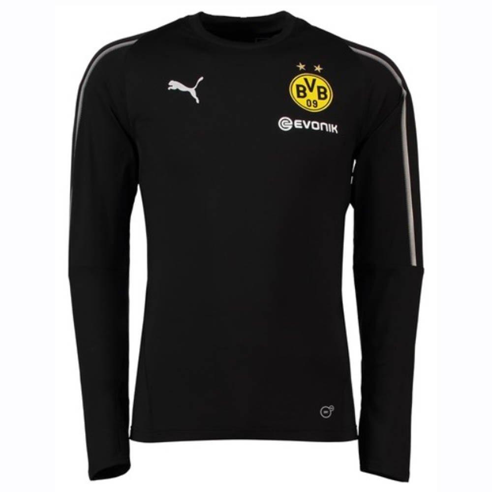 Puma Herren BVB Casual Sweat ohne Sponsor Logo Sweatshirt