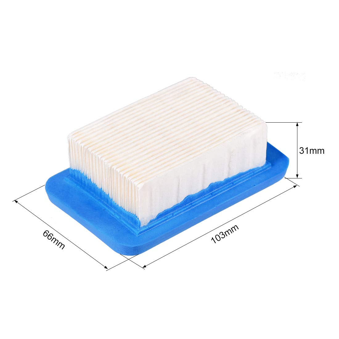 uxcell 2 Pcs A226000032 Air Filter for Echo Leaf Blower PB755ST PB500T PB403 PB403H PB403T PB413H PB413T PB500H PB603 PB611 PB620 PB620ST PB650