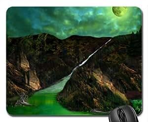 Green Magic Mouse Pad, Mousepad (Waterfalls Mouse Pad)
