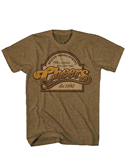 (Cheers T-Shirt Boston Massachusetts)