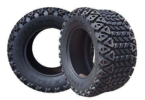 Arisun 23 x 10.5-12 DOT All-Terrain Tire for Golf Carts & ATV's (6 Ply Rating) -- 1
