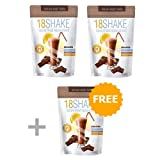 18 Shake Chocolate - 3pck - Free Ebook - Top Rated Protein Formula - Gluten Free - No Hormones - No Artificial Sweeteners - 100% Healthy Weight Loss