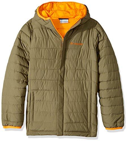 Columbia Boys' Little Powder Lite Puffer Jacket, Sage, XX-Small