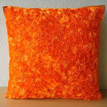 Amazon Luxury Throw Pillow Covers 40x40 Orange Accent Impressive Orange Decorative Pillows For Couch