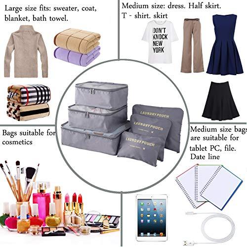 db66070c0328 Finders | M-jump 6 Set Travel Storage Bags Multi-functional Clothing ...