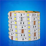 OOFAY Waterproof Led Strip Lights 5050 5M Patch 60 lights With Aluminum Plate High Light, green
