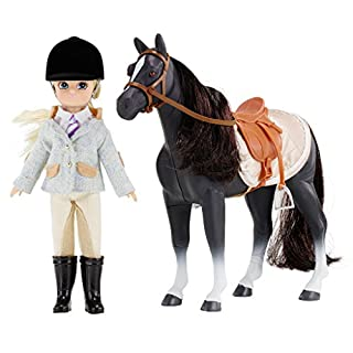 Lottie Pony Club Doll with Horse | Horse Gifts For Girls & Boys | Horse Toys For Girls & Boys