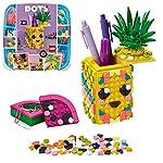 LEGO DOTS PortagioielliArcobaleno DYI, Set Fai da Te di Accessori da Scrivania, Decorazioni per la Cameretta, Kit Artistici per Bambini, 41905  LEGO