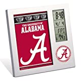 Alabama Crimson Tide Digital Desk Clock