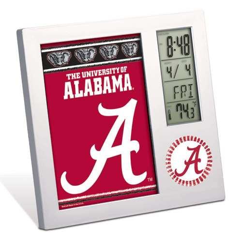 Alabama Crimson Tide Digital Desk Clock