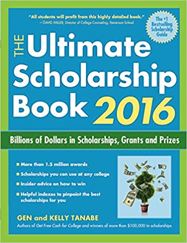 Scholarships For College Students 2016 >> Amazon Com The Ultimate Scholarship Book 2016 Billions Of