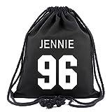 JUSTGOGO KPOP BLACKPINK Backpack Daypack Drawstring Bag Handbag School Bag (1)
